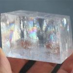 Calcite, Optical (Rainbow Calcite, Icelandic Spar)